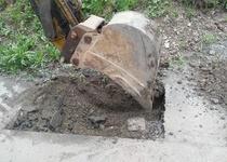 Oprava vodovodního řadu na ulici Plotní