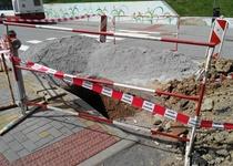 Oprava vodovodního řadu na ulici Opletalova a Blažkova