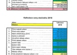 Kalkulace ceny vodného a stočného pro rok 2018